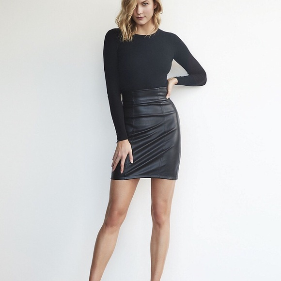 c927773037 Express Skirts | Nwt Karlie Kloss High Waisted Mini Skirt | Poshmark